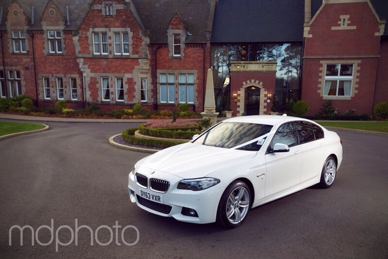 Rockliffe Hall Wedding Car