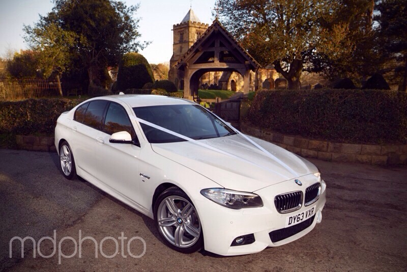 Crathorne Wedding Car Photo